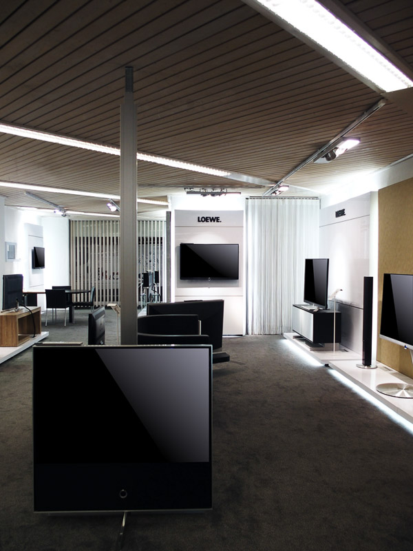 Koenig Ascona shop interior loewe