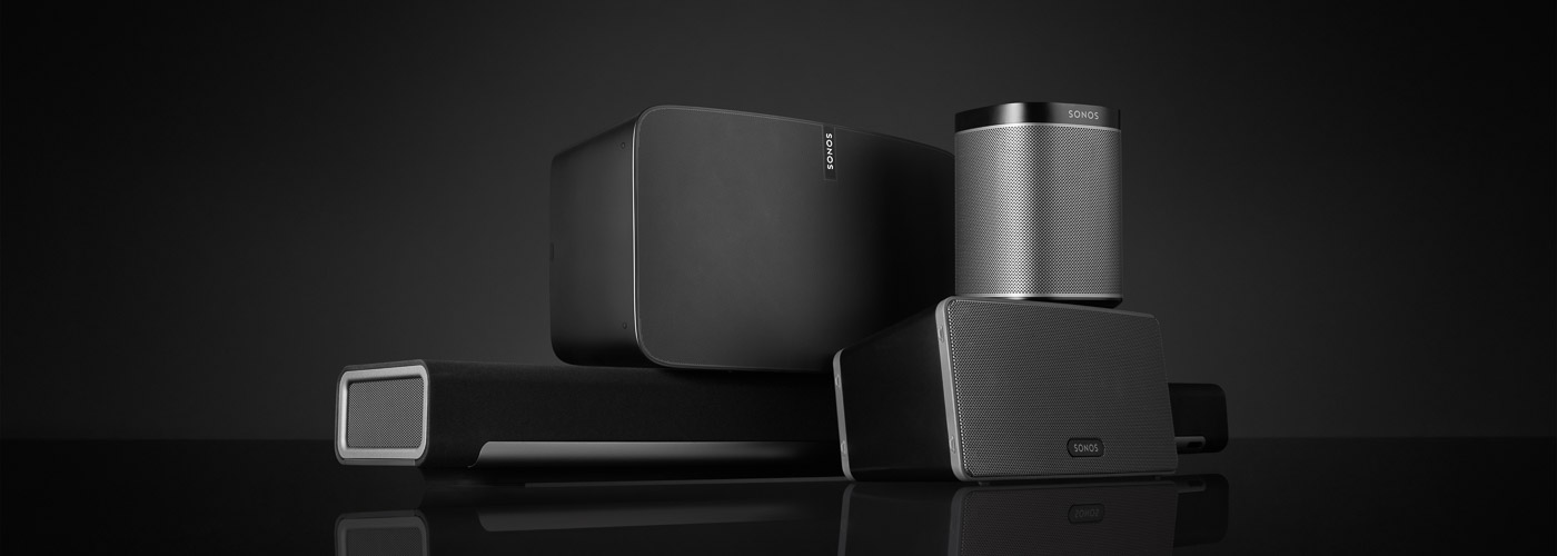 koenig Ascona Sonos Products wide black