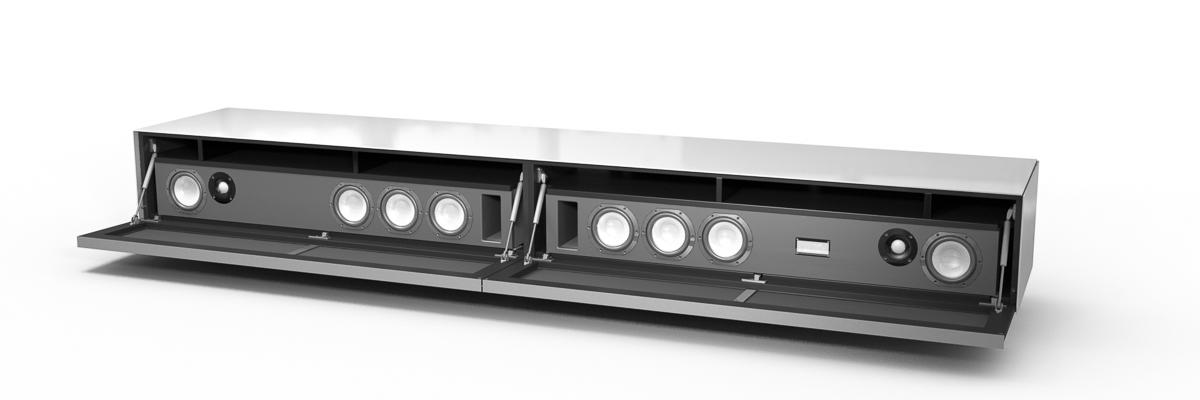 König Ascona mobile tv spectral con altoparlante aperto