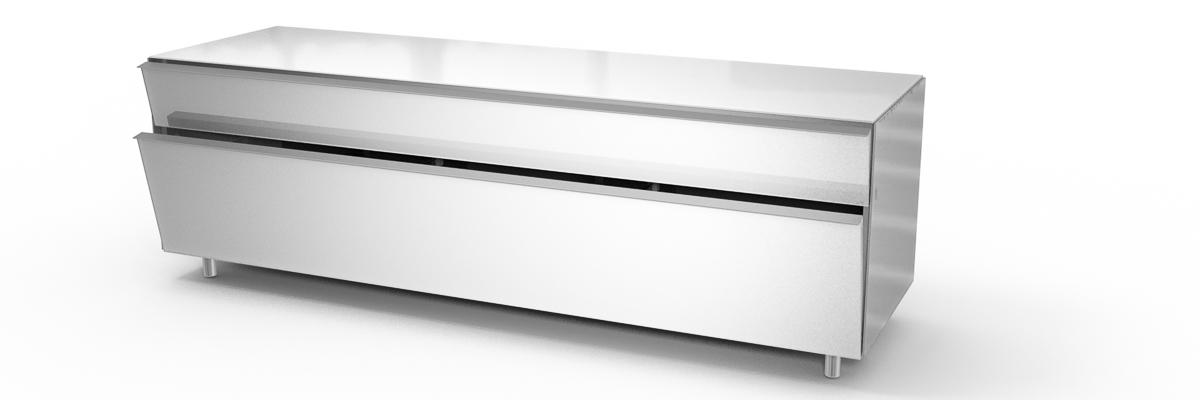 König Ascona mobile tv spectral bianco